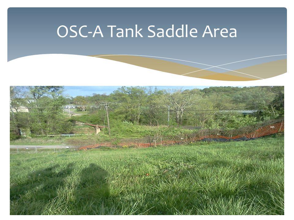 OSC-A Tank Saddle Area