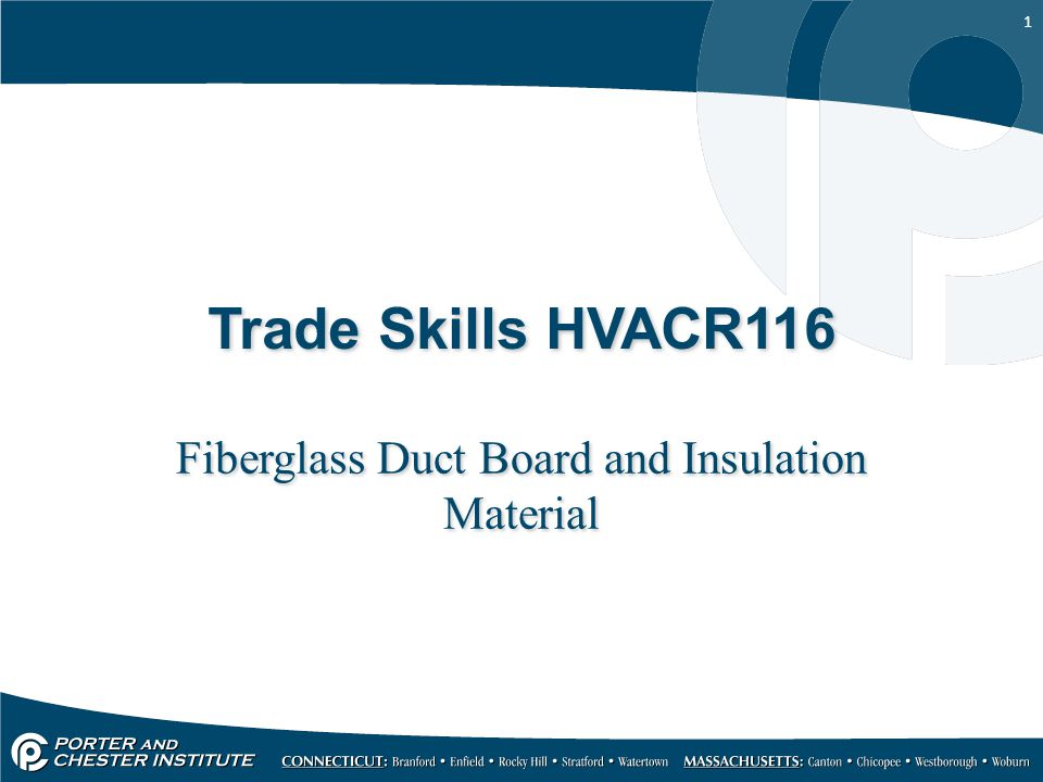 2 Fiberglass Duct Board For nearly 50 years, fiberglass insulation has been used as a component of air duct systems to maintain comfort and IAQ.