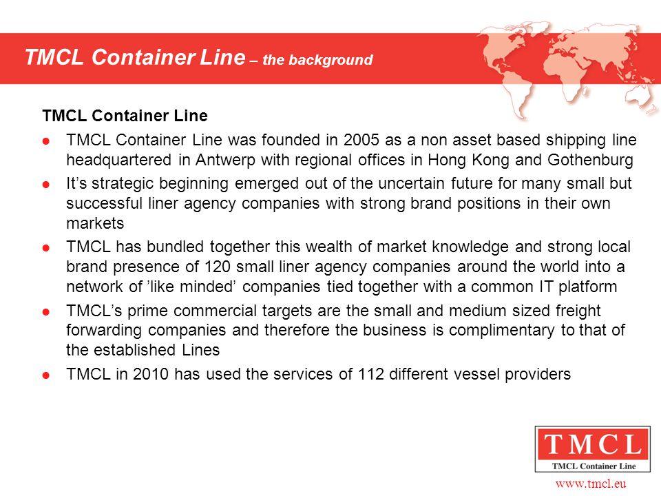 www.tmcl.eu Agents in Asia Hong Kong: Top Speed Ltd.
