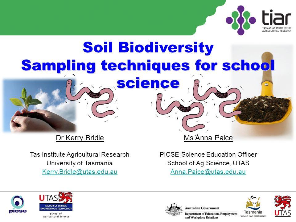 Pitfall traps www.environment.utas.edu.au/documents/ BiGGFieldDataManual.pdf