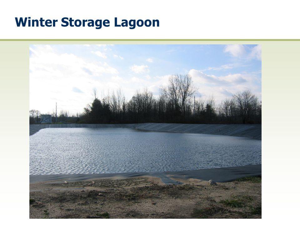 Winter Storage Lagoon