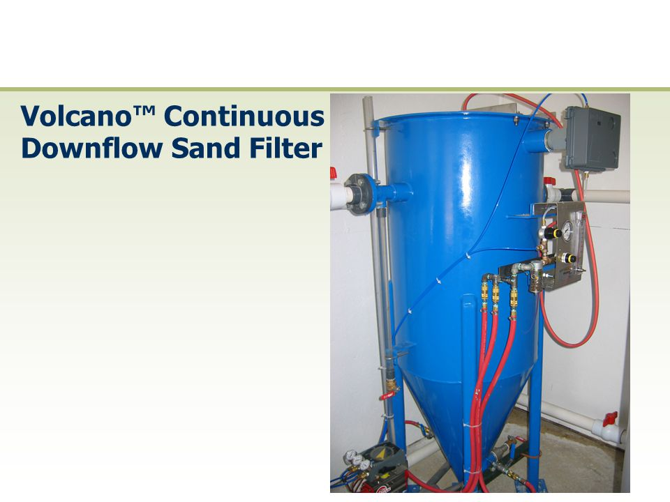Volcano™ Continuous Downflow Sand Filter