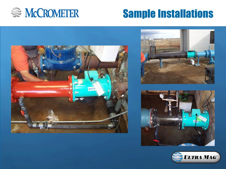 Sample Installations