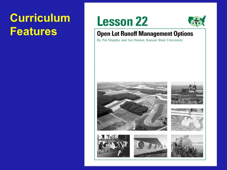 Curriculum Features