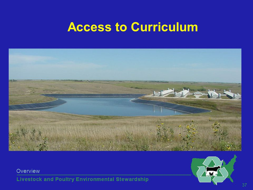37 Overview Access to Curriculum
