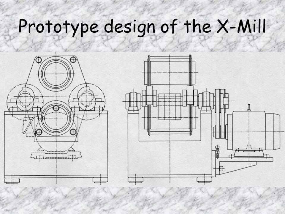 Prototype design of the X-Mill