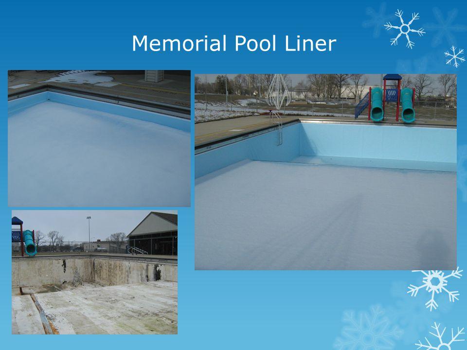 Memorial Pool Liner