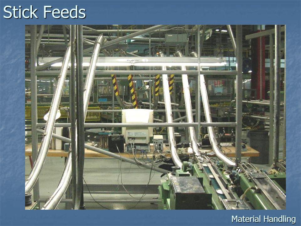 Stick Feeds Material Handling