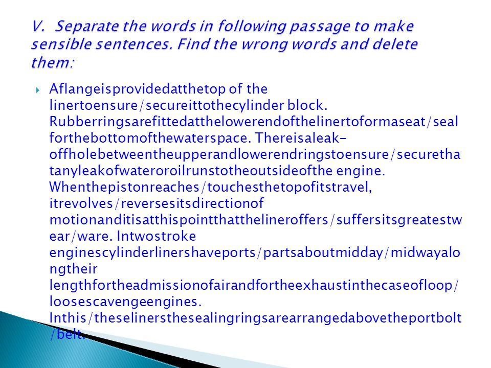  Aflangeisprovidedatthetop of the linertoensure/secureittothecylinder block.