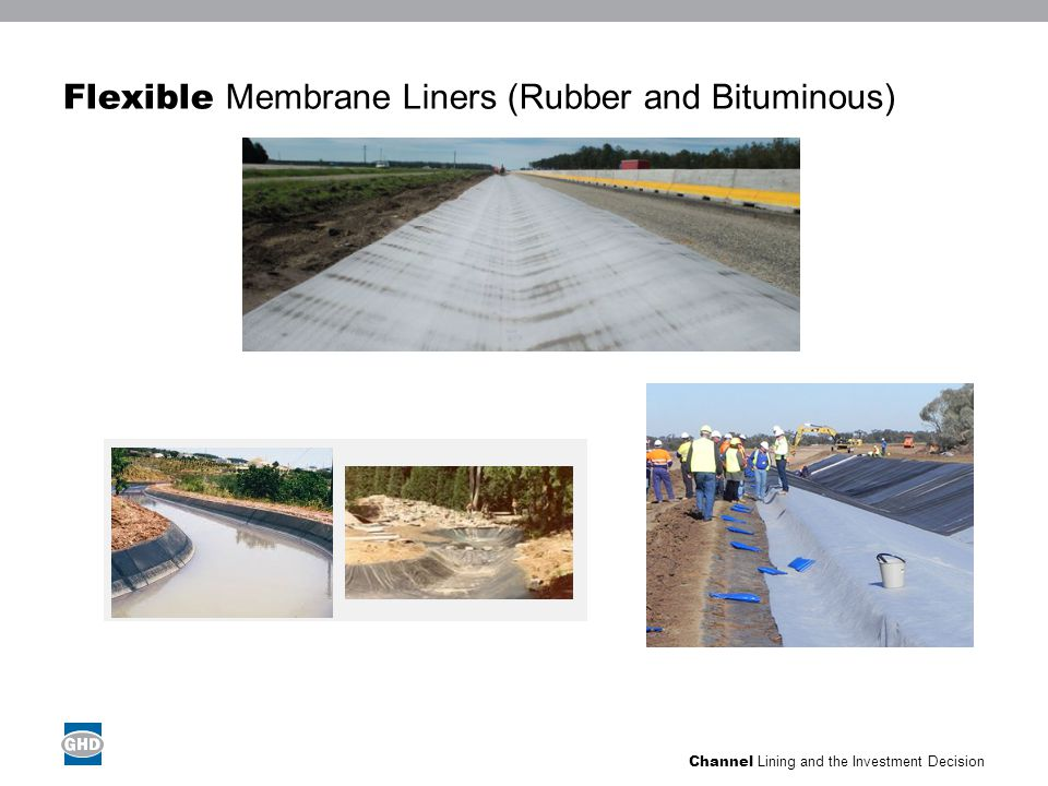 Channel Lining and the Investment Decision Concrete Liners