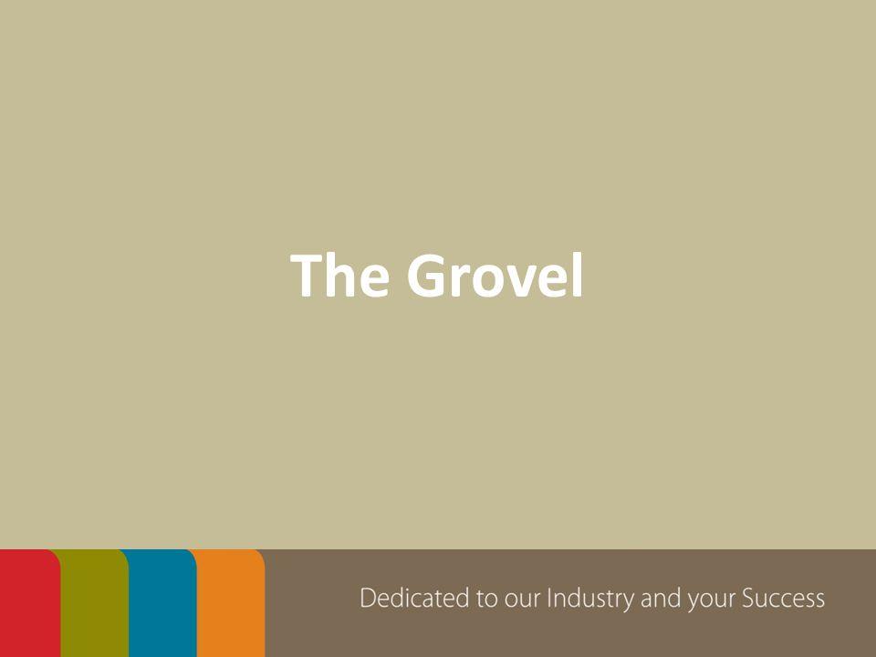 The Grovel
