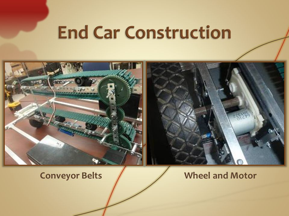 Conveyor BeltsWheel and Motor
