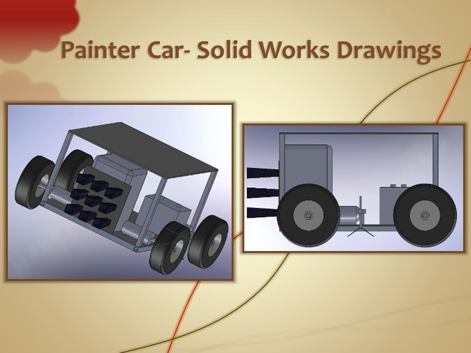 Painter Car- Solid Works Drawings
