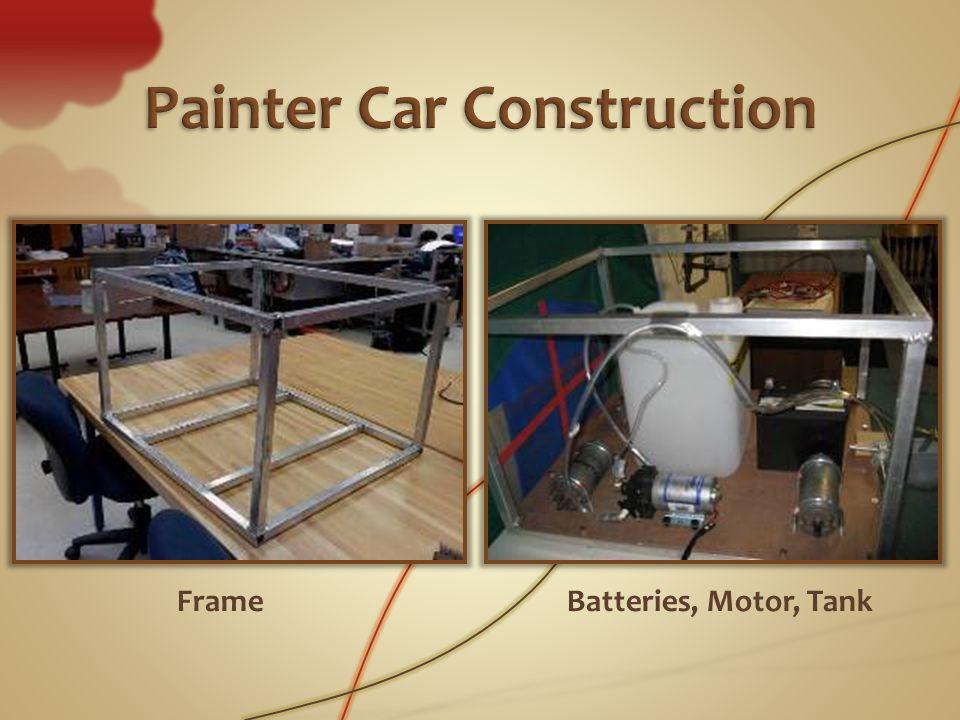 FrameBatteries, Motor, Tank