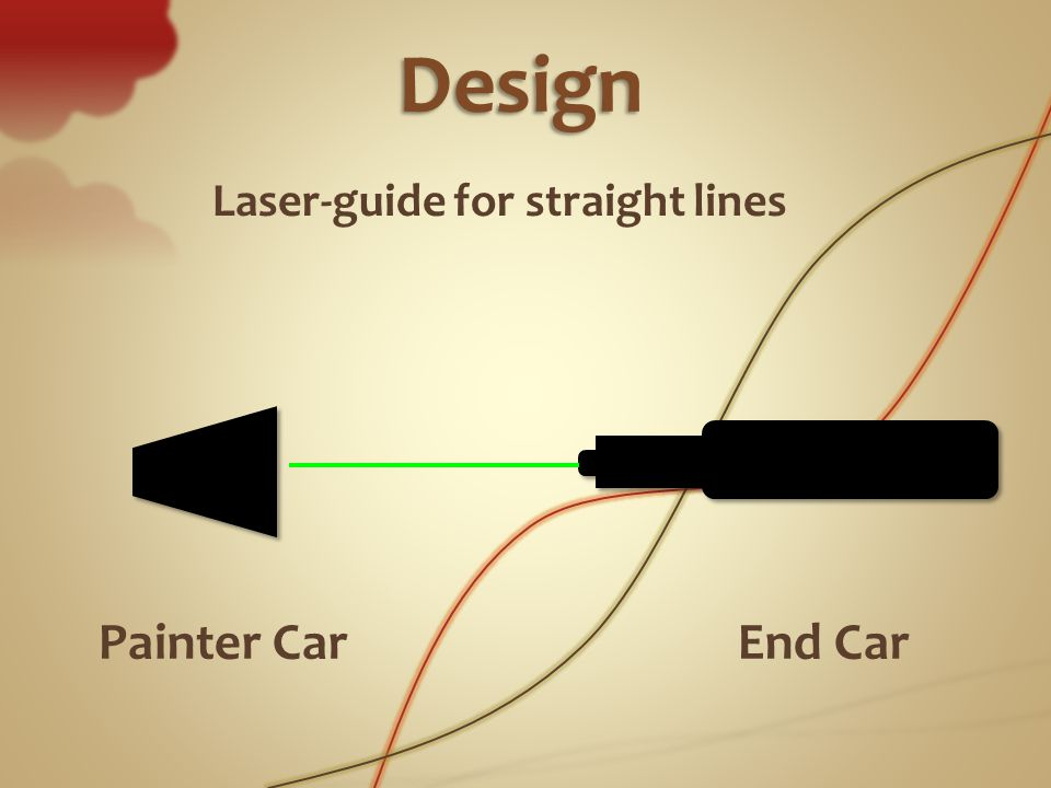 Laser-guide for straight lines Painter CarEnd Car Design