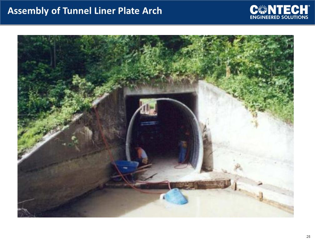 Assembly of Tunnel Liner Plate Arch 25