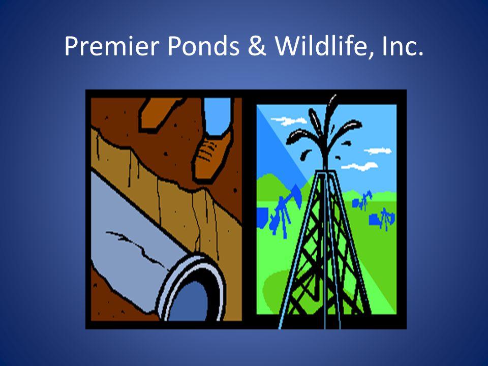 Premier Ponds & Wildlife, Inc.