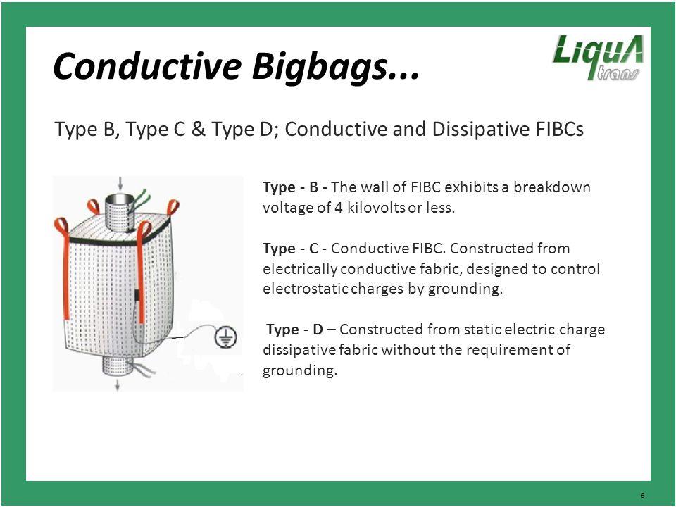 6 Conductive Bigbags...