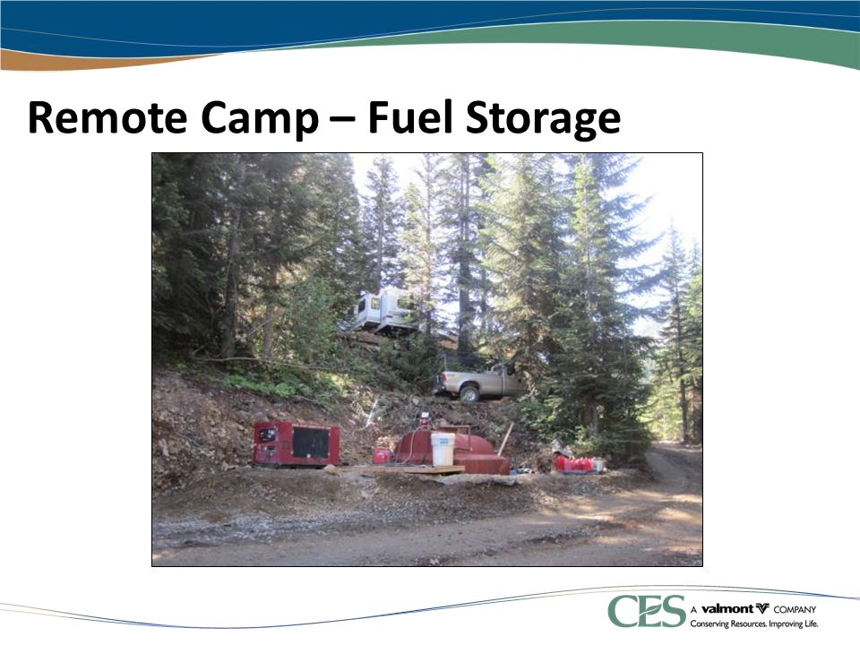 Remote Camp – Fuel Storage
