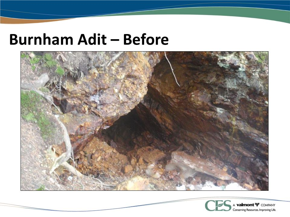 Burnham Adit – Before