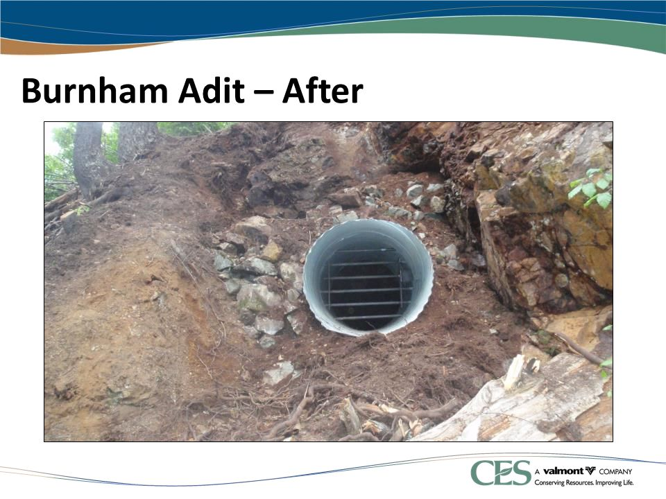Burnham Adit – After