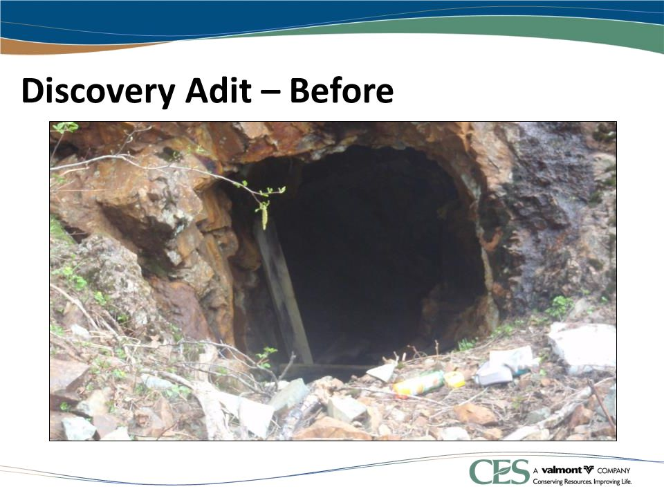 Discovery Adit – Before
