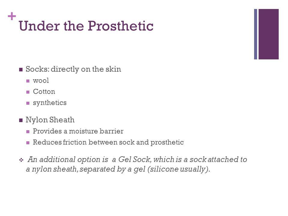 + The Prosthetic Itself Wood Plastic Thermosets Thermoplastics Metal