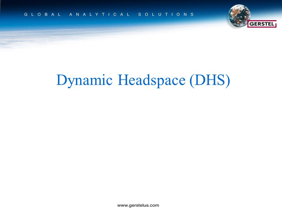 Dynamic Headspace (DHS)