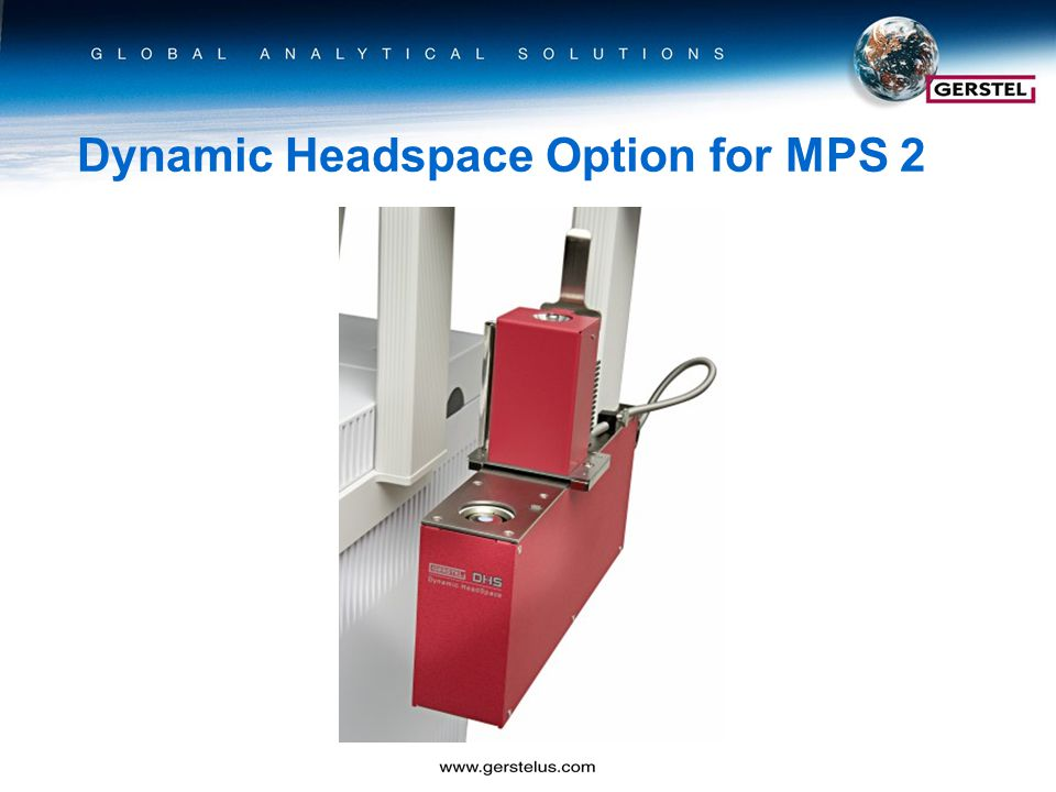Dynamic Headspace Option for MPS 2