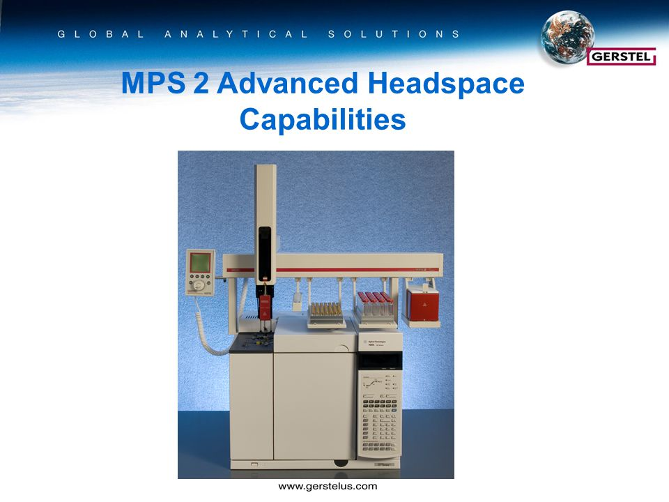 MPS 2 Advanced Headspace Capabilities