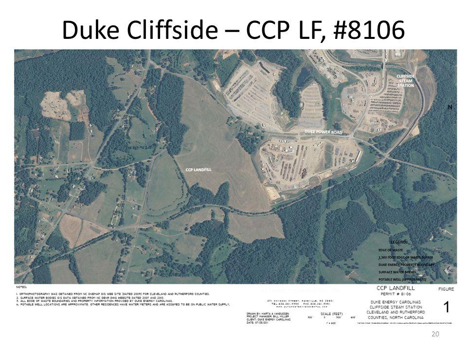 Duke Cliffside – CCP LF, #8106 20