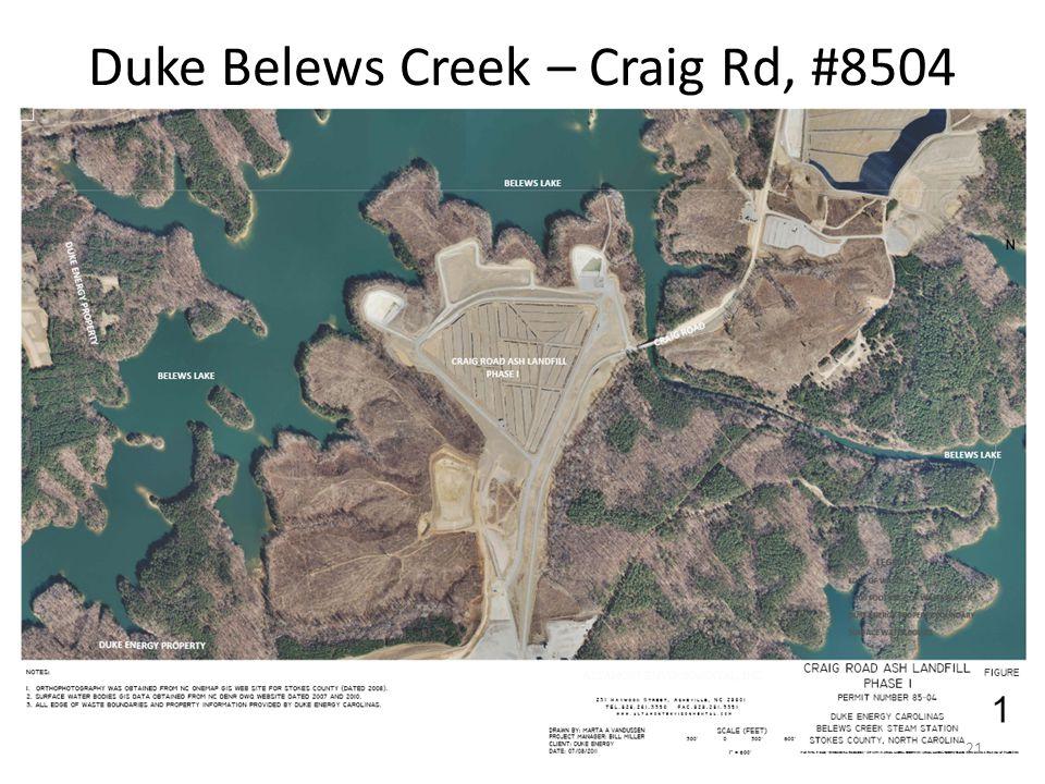 Duke Belews Creek – Craig Rd, #8504 21