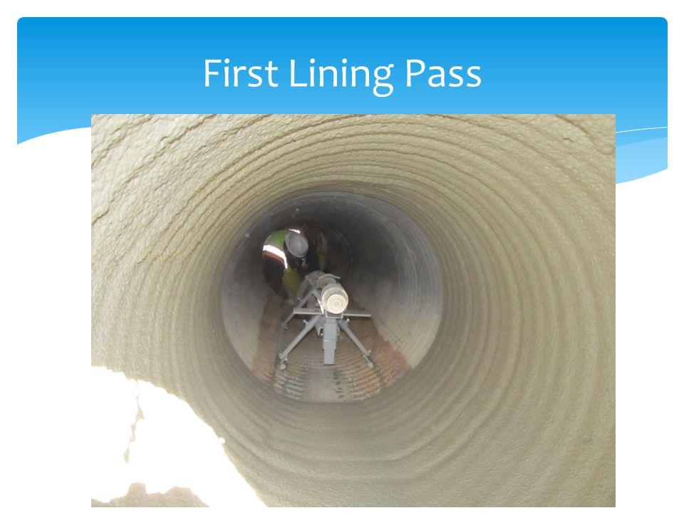 First Lining Pass