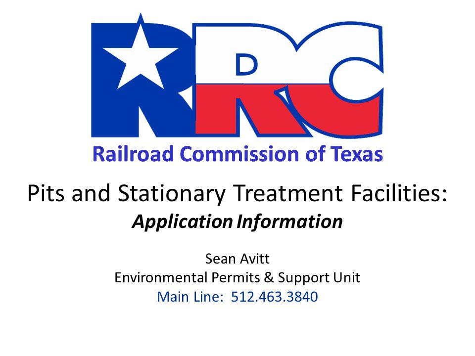 APPLICATION INFORMATION Stationary Treatment Facilities (STFs) 42