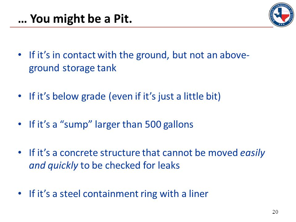 … You might be a Pit.