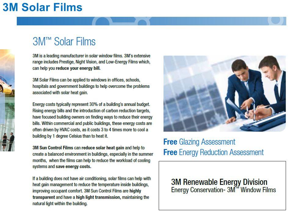 3M Solar Films