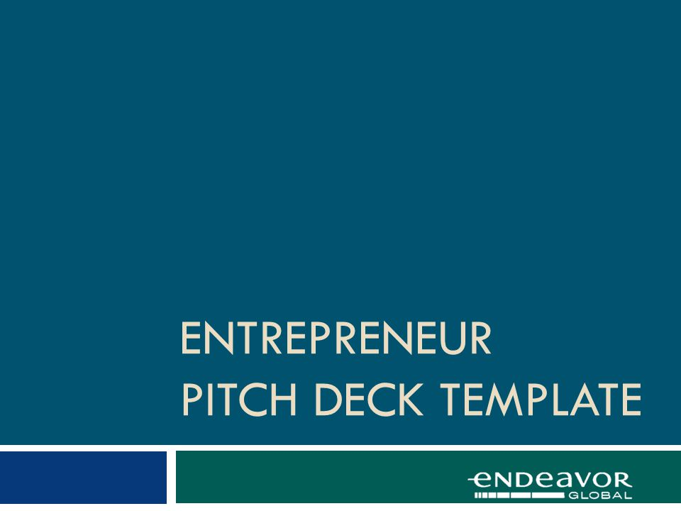 Pitch Deck: FINANCIALS What have you accomplished so far.
