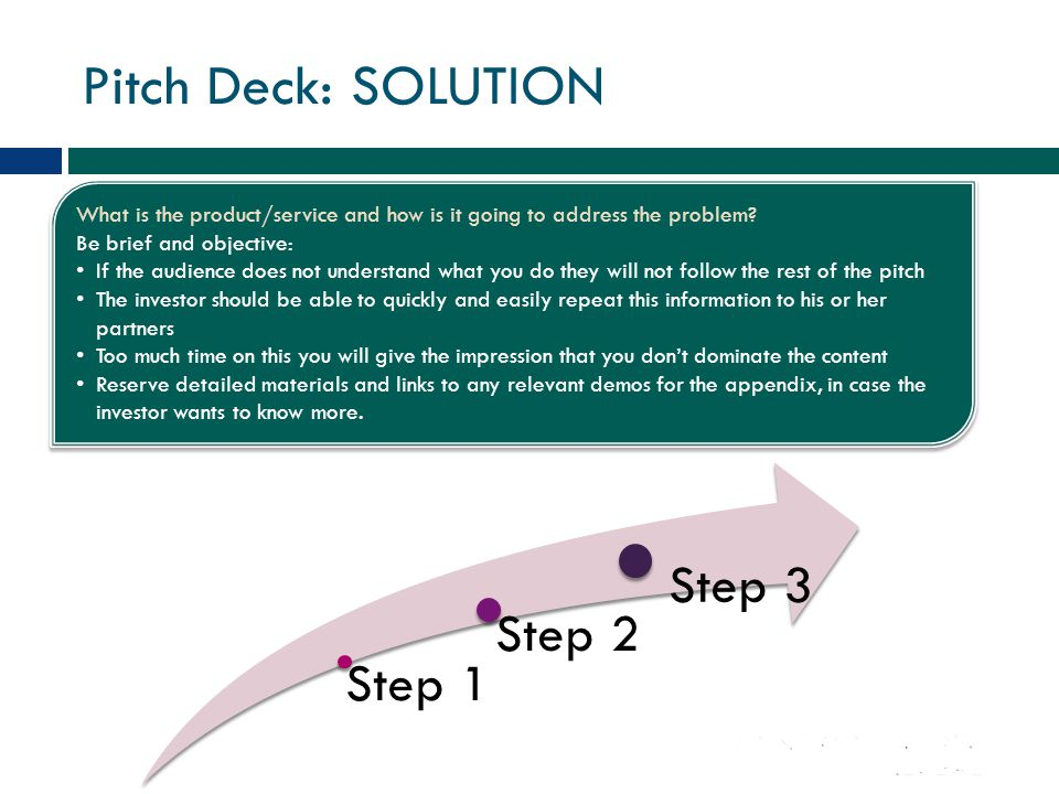 Pitch Deck: TEAM Prove with your team's track record that you are the best equipped to create this product or service.