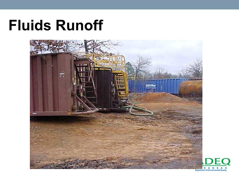 Fluids Runoff