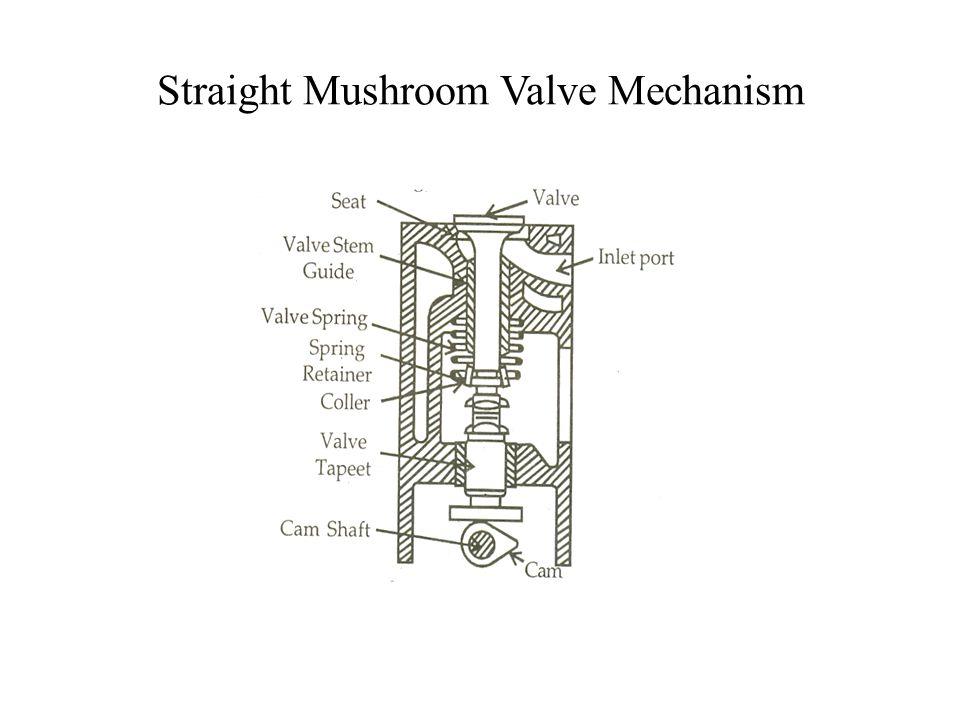 Straight Mushroom Valve Mechanism