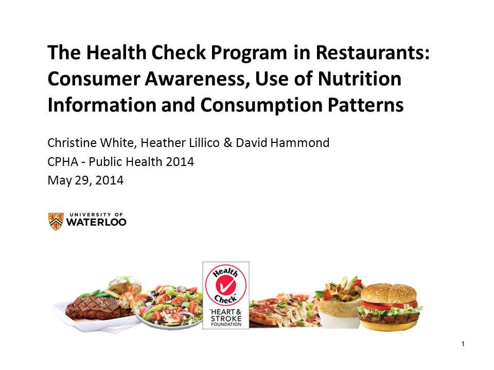 2 Obesity and Eating out 60% of Canadian adults obese or overweight.