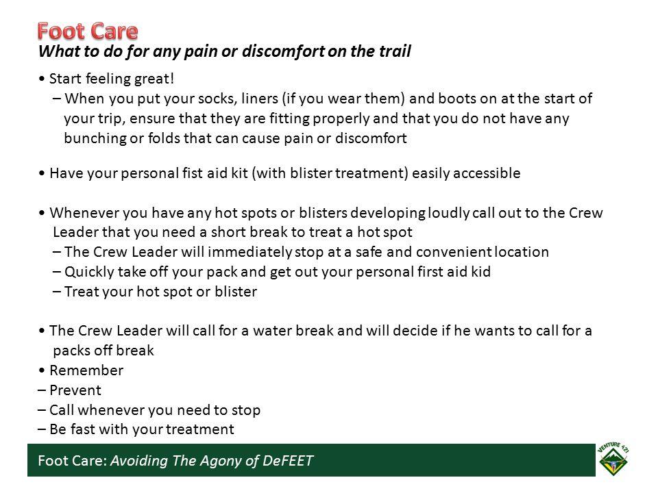 Foot Care: Avoiding The Agony of DeFEET Start feeling great.