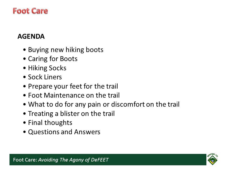 Foot Care: Avoiding The Agony of DeFEET