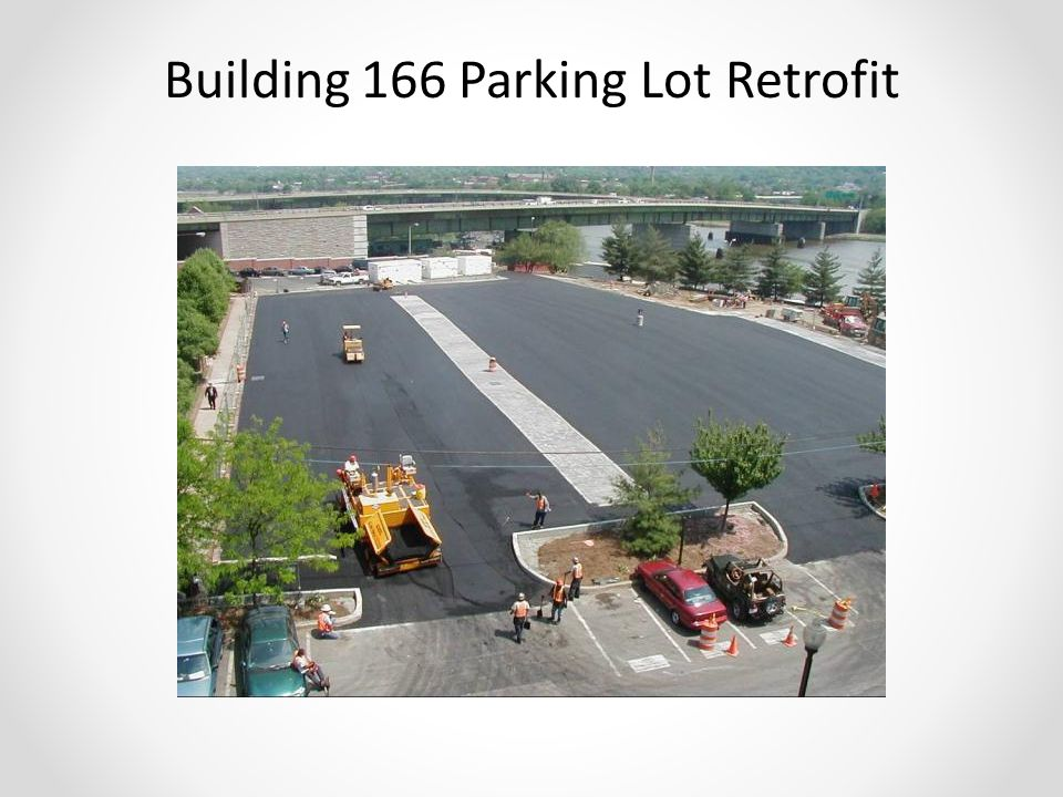 Building 166 Parking Lot Retrofit