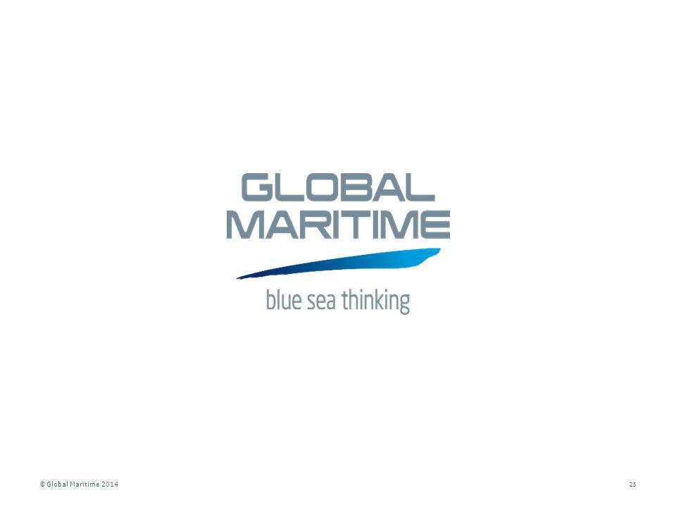 © Global Maritime 2014 25