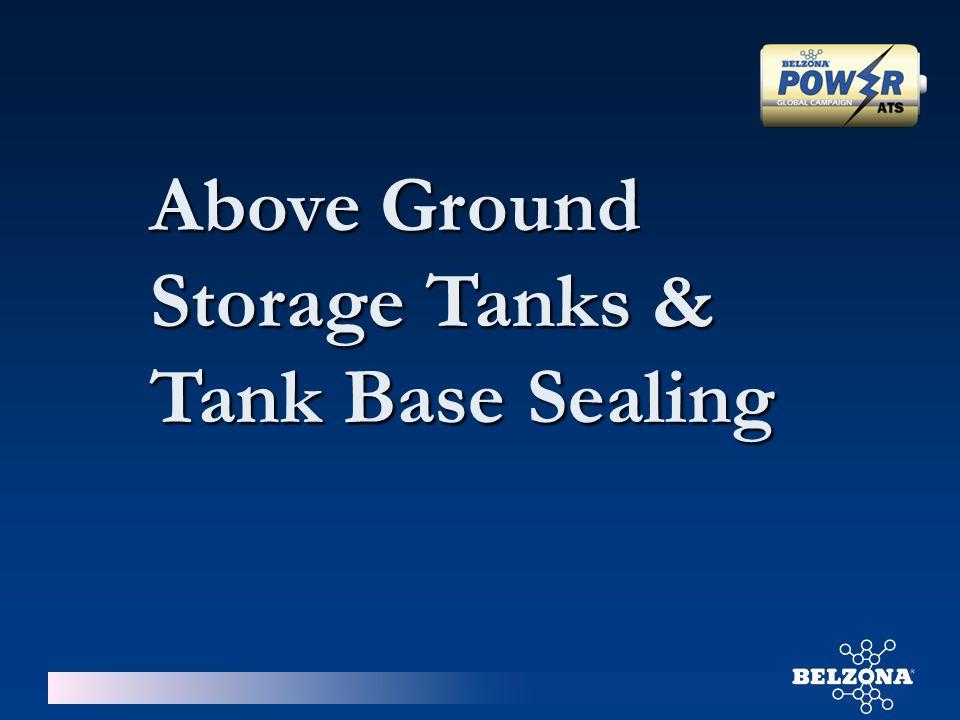 Above Ground Storage Tanks & Tank Base Sealing