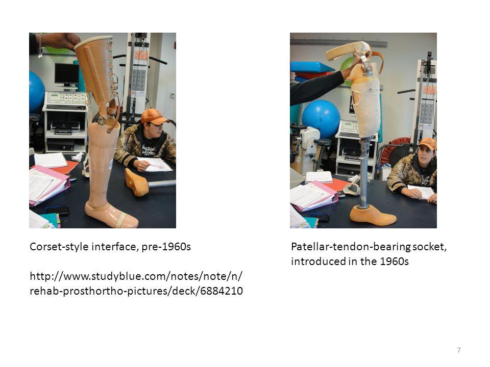 8 Silesian bandage http://oandplibrary.com (Silesia is a region in Poland) Total elastic suspension belt http://www.ortho- europe.com/prosthetics/Liners Pelvic belt amhs.org.au/Virtual Museum/Surgery/orthopedics/ Limb-prostheses