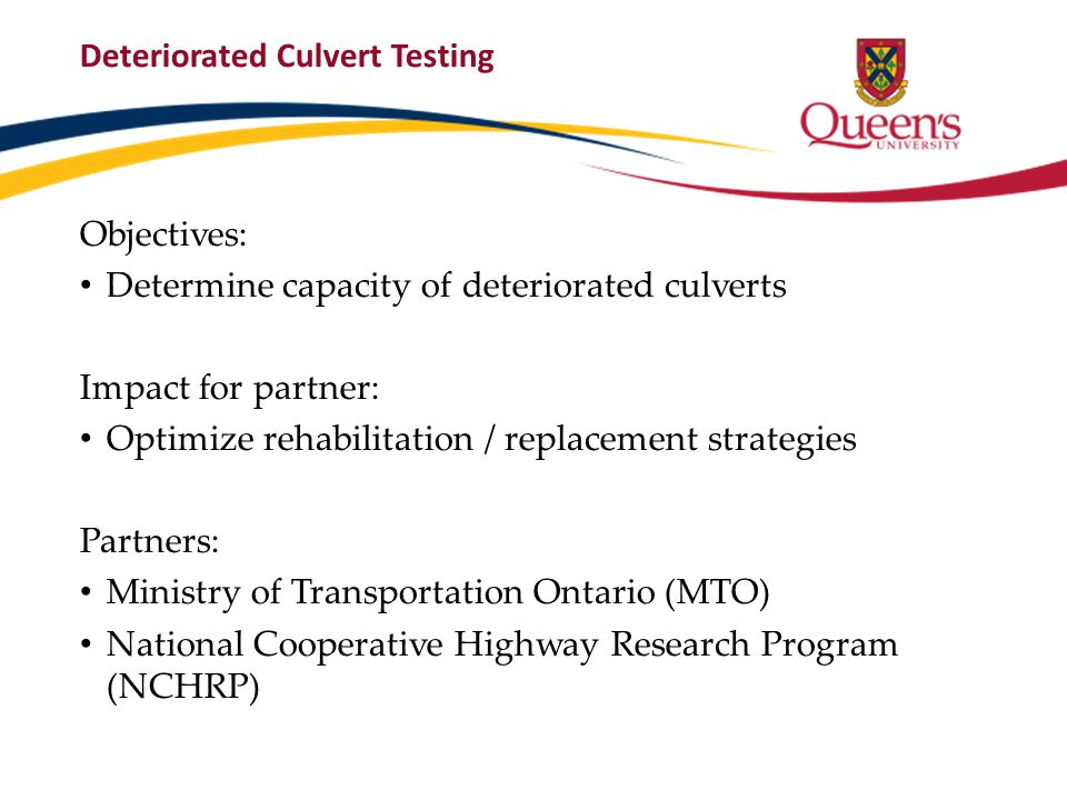 Culvert Deterioration (Courtesy of Taher and Moore, 2011)