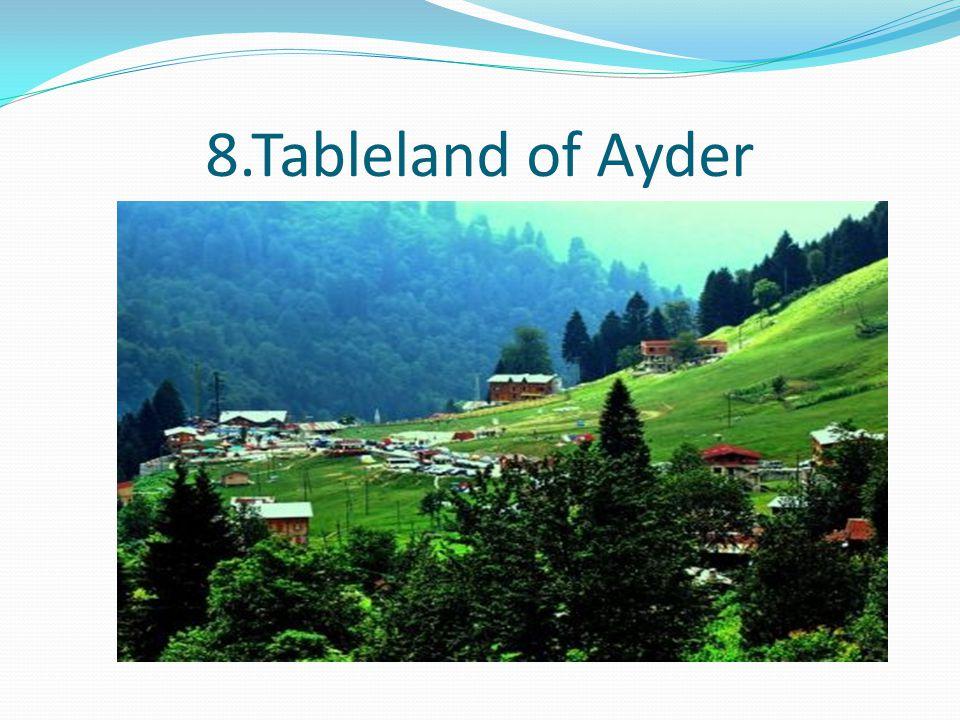 8.Tableland of Ayder