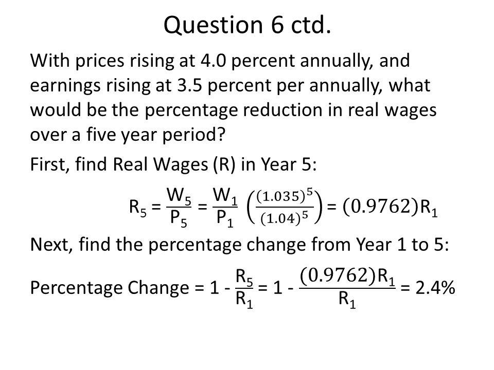 Question 6 ctd.
